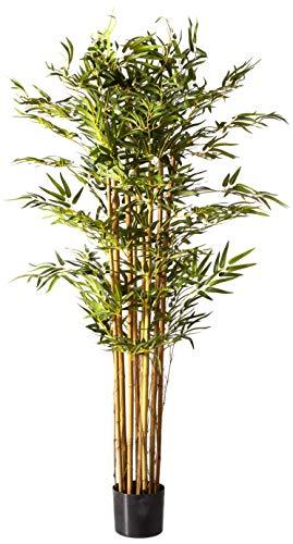 (Nearly Natural 5179 Bambusa Bamboo Silk Tree, 5-Feet, Green )