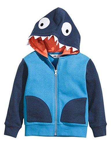 Cartoon Zipper Hoodie Jacket Outerwear