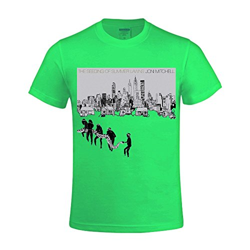 joni-mitchell-the-seeding-of-summer-lawns-mens-crewneck-classic-t-shirts-green
