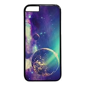 iCustomonline Amazing Universe Nebula Black Plastic Hard Back Fits Case for iPhone 6( 4.7 inch)