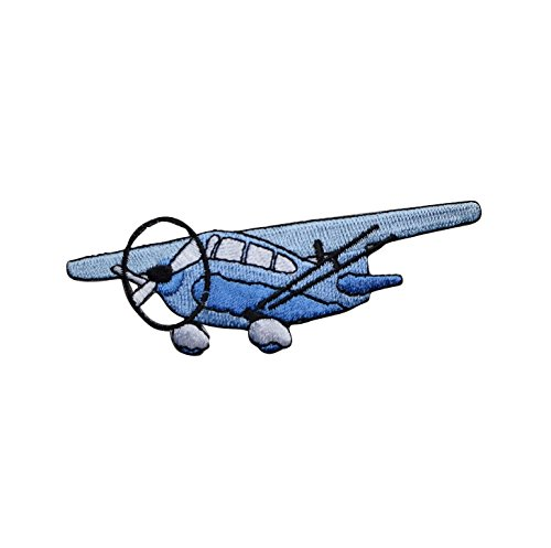Cessna Airplane Flying Applique Patch (Iron On)
