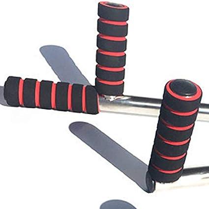 Plateado Estirador de pierna de hierro Extensi/ón de piernas de 3 barras M/áquina dividida Herramienta de entrenamiento de flexibilidad Artefacto de solapa abierta Equipo de gimnasio en casa