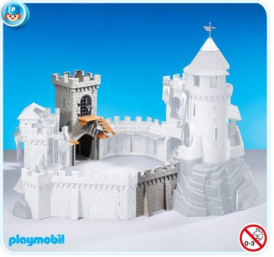 Amazon Com Playmobil Add On Series Tower Extension For Castle