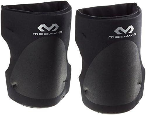 McDavid kniebeschermerset met open achterkant voor grotere bewegingsvrijheidvoor dames en herenzwart M 3538 cm