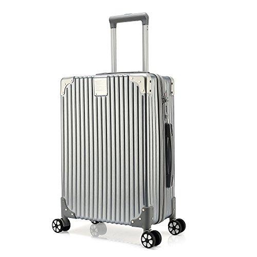 fb7985ec0417 Galleon - Kroeus ABS+PC Rolling Luggage Suitcase Spinner Wheels TSA ...