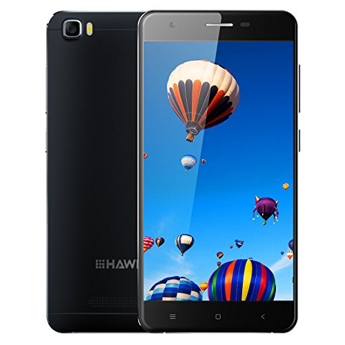 HAWEEL H1 5.0 Inch Android 5.1 Smartphone1GB RAM  8GB ROM MTK6580 Quad Core 1.2GHzGSM & WCDMA(Black)