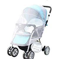 V-FYee Bug Net for Baby Strollers, Infant Carriers & Car Seats Cradles (White)