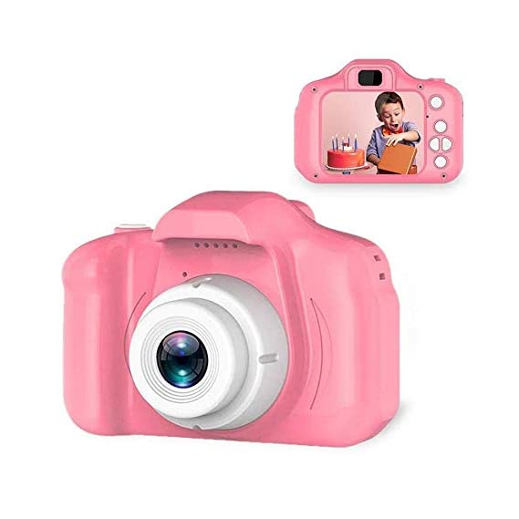 Progressive Enterprises 3.2 MP Multicolor Camera with 2.0 Inch Screen Rechargeable Camcorder for Girls Boys Supports