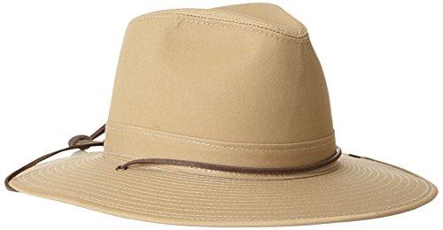 Henschel Men's Aussie Hat, Khaki, - Aussie Hat Slouch