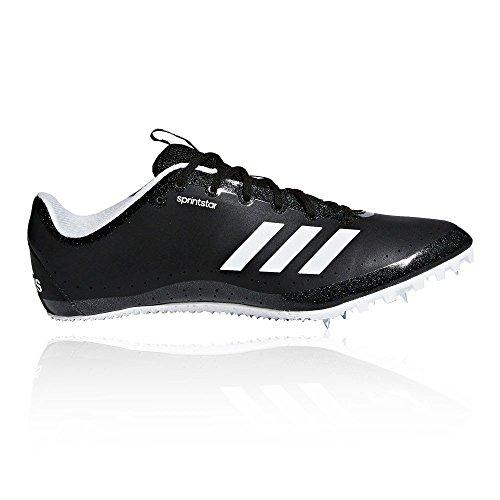 adidas Sprintstar W, Zapatillas de Atletismo para Mujer Negro (Negbas/Naranj/Ftwbla 000)