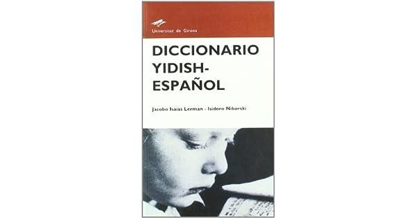 Amazon.com: Diccionario yídish-español (9788484581918 ...