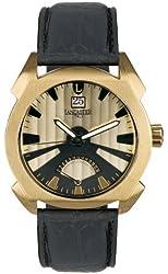 Lancaster Men's  OLA0346YG/NR Lanza Gold and Black Dial Watch Model