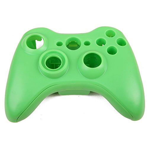 HDE Replacement Shell for Xbox 360 Wireless Controllers Includes Shell Buttons Thumbsticks Torx Screwdriver Replacement Case Cover and Tool Kit - Green