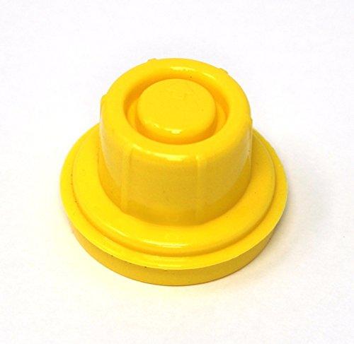 2PK Blitz Replacement Yellow Spout Cap Fuel Gas Top CAN # 900302 900092 900094 by DAVITU