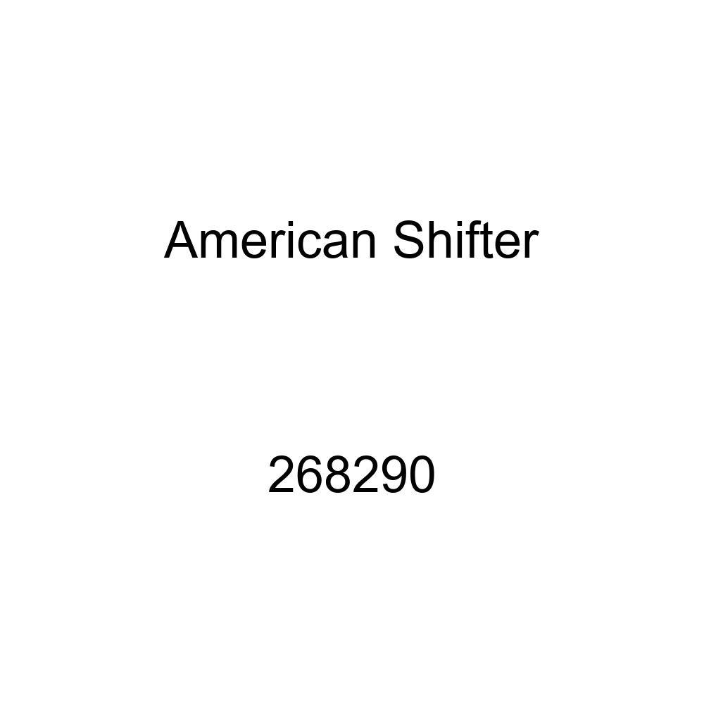 American Shifter 268290 Green Flame Metal Flake Shift Knob with M16 x 1.5 Insert Orange Skull 5