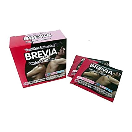 Brevia - Toallitas individuales intima 6 uds.