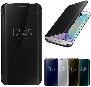 Yiran® Clear View Espejo Flip Smart Cover caso para Samsung Galaxy ...