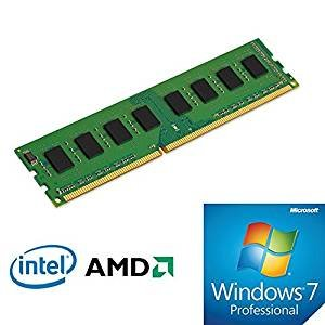 Bundle Pack DDR3 RAM (4GB) 1600/1333Mhz & OS Windows 7 Pro 64-Bit ENG DVD OEM