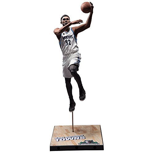 fan products of McFarlane Toys NBA Series 29 Karl-Anthony Towns Minnesota Timberwolves Collectible Action Figure