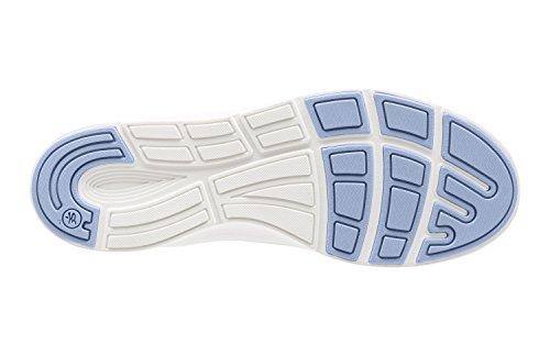 Scarpe Sportive Artigianali In Pelle Di Tiglio Superlegate Nere / Bluebell