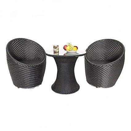 Nano Out Door Garden Patio Seating Set (Standard, Brown)