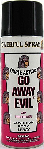 Indio Aerosol Spray Triple Action Go Away Evil (Best Room Spray In India)