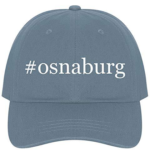 Fabric 30 Yard Bolt - The Town Butler #Osnaburg - A Nice Comfortable Adjustable Hashtag Dad Hat Cap, Light Blue