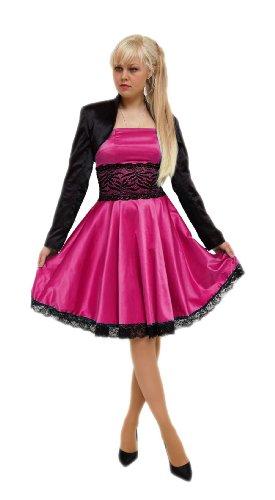 Young-Fashion - Vestido - Noche - Sin mangas - para mujer fucsia
