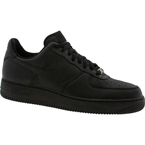 Nike Mens Air Force 1 Low 07 Basketball Shoes Black/Black 315122-001 Size 12