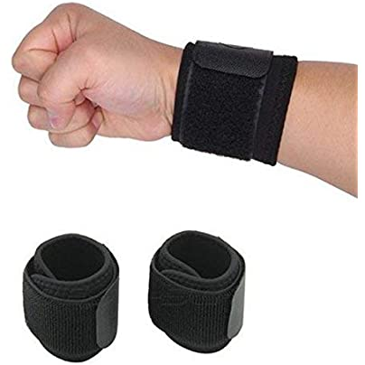 AiCheaX Adjustable Sport Wristband Pieces Lot Adjustable Sport Wristband Wrist Brace Wrap Bandage Support Band Gym Strap Safety Wrist Protector Estimated Price £9.83 -