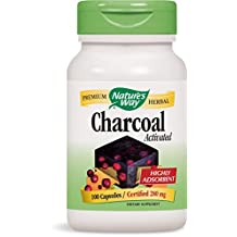 Nature's Way Activated Charcoal, 280 mg (100 Capsules)