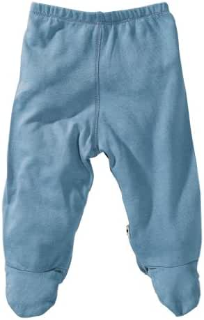 Babysoy Baby Unisex Basic Footie Pants