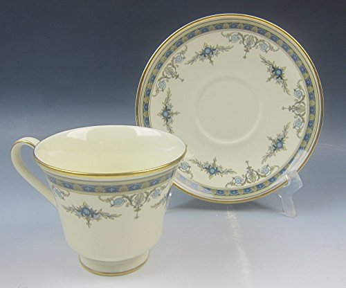 Minton China GRASMERE BLUE Cup and Saucer Set(s) EXCELLENT