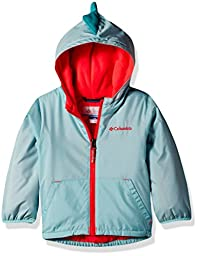 Columbia Little Girls\' Toddler Kitterwibbit Jacket, Spray, 4T