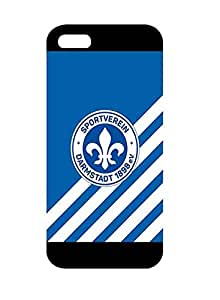 PhoneCaseMaster Iphone 5/5s Carcasa Case Sv Darmstadt 98 Case Skin Cover For Iphone 5/5s Carcasa Black (Bundesliga)