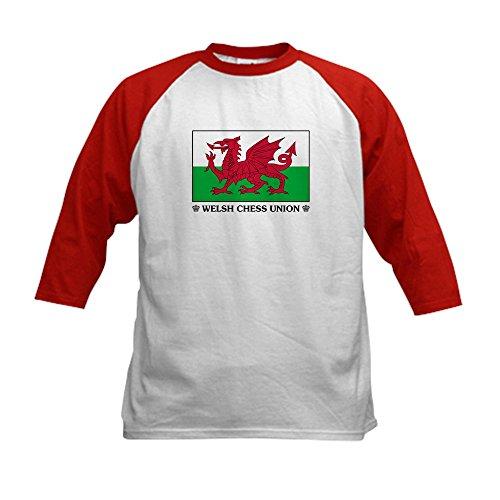CafePress - Welsh Chess Union Kids Baseball Jersey - Kids Co