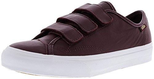Vans Unisex Shoes Style 23 V (Canvas) Skate Sneaker Burgundy factory outlet online outlet best seller sale genuine nv5tOKBP4