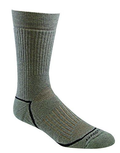 Fox River Pioneer Men`s Medium weight Crew Socks, FR-2454, Large, Basil