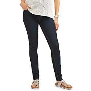 Women's Maternity Over The Belly Super Soft Stretch Skinny Jeans