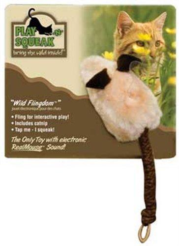 Wild Flingdom Squeaking Cat Toy, My Pet Supplies