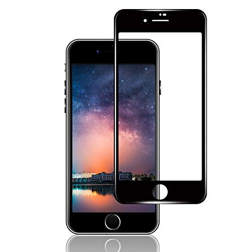懐疑的家具あえてiPhone 8plus /iphone 7 Plusガラスフィルム 【日本旭硝子素材採用 】Abosi 防指紋 強化ガラス 3D炭素繊維全面液晶保護フィルム 極薄0.25mm透過率99.9% 高感度なフィルム 業界最強9H硬度 自己吸着 気泡ゼロ 飛散防止(ブラック)