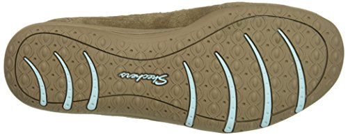 Skechers Unity-Eternal Bliss, Formateurs Femme Taupe/Blue