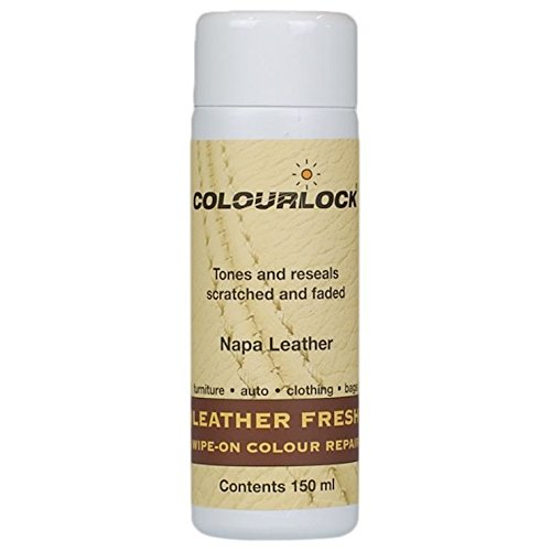 Kit - COLOURLOCK Leather Fresh Dye Kit with Strong Cleaner – RangeRoverLandRover Parchment by Colourlock (Image #2)