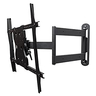 "SunBriteTV Dual Arm Articulating (Full Motion) Outdoor Weatherproof Mount for 42"" - 65"" TV Screens & Displays - SB-WM-ART1-M-BL (Black)"