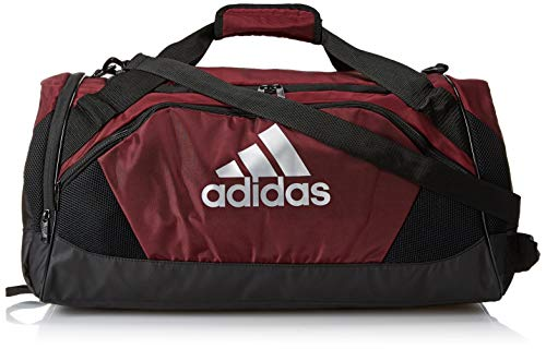adidas Unisex Team Issue II Medium Duffel Bag, Team Maroon, ONE SIZE