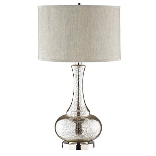 Stein World 98876 Silver/Gold Glass Gourd Table Lamp