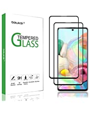 جلاكسي ايه 71 / A71 ،استيكر حماية شاشة( 2 قطع ) مقاوم للخدوش والبصامات ،يغطي كامل الشاشة ،يعطي رؤية واضحة ،عالي الدقة.