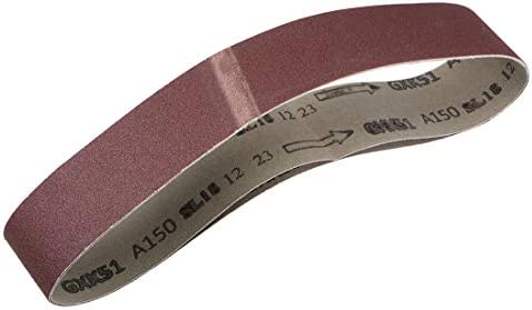 uxcell 研磨ベルト サンディングベルト サンディングベルト 150グリット 酸化アルミニウム 50mm x 686mm 2個入り