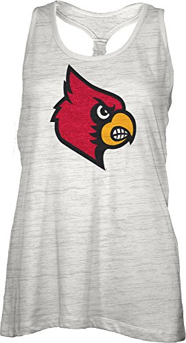 Three Square by Royce Apparel NCAA Louisville Cardinals Bernice Tank Top, ()