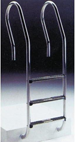 Escalera mixta asimetrica 3 peldaños aquarama 9827
